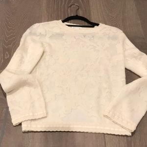 White Club Monaco sweater size s